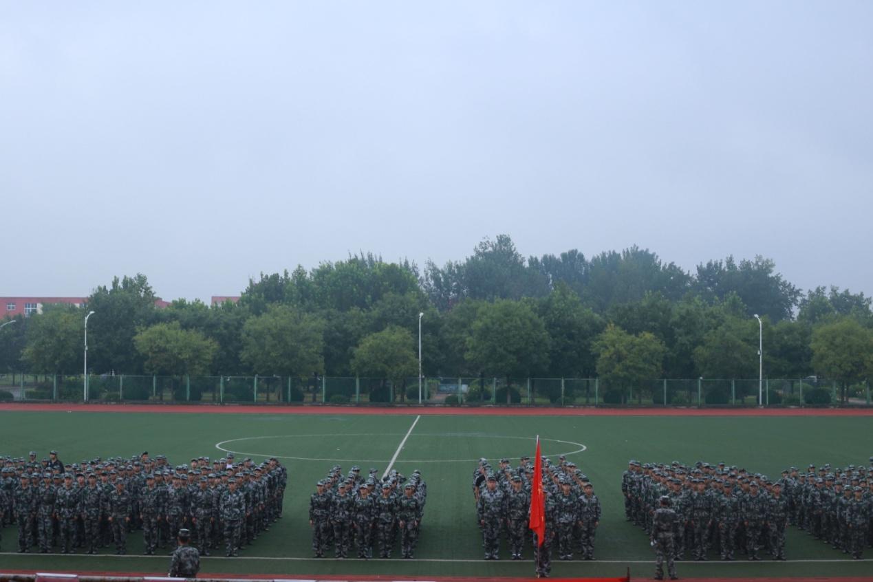 北京经济技术职业学院2018年新生军训开营典礼隆重举行